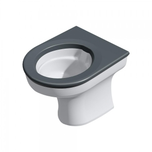 CWC-151 anti-ligature disabled height back-to-wall WC pan range