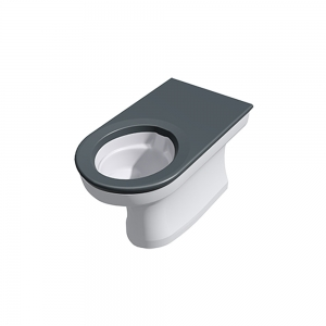 CWC-256 anti-ligature extended disabled back-to-wall WC pan range