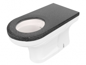 CWC-256 extended disabled back-to-wall WC pan range