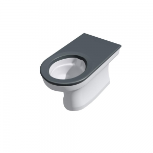 CWC-156 secure extended disabled back-to-wall WC pan range