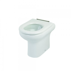 Ceramic back to wall WC pan