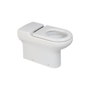 Ceramic disabled height back to wall WC pan