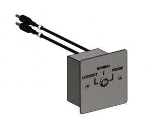 Key switch isolation